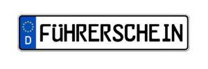 Führerschein-Kennzeichen