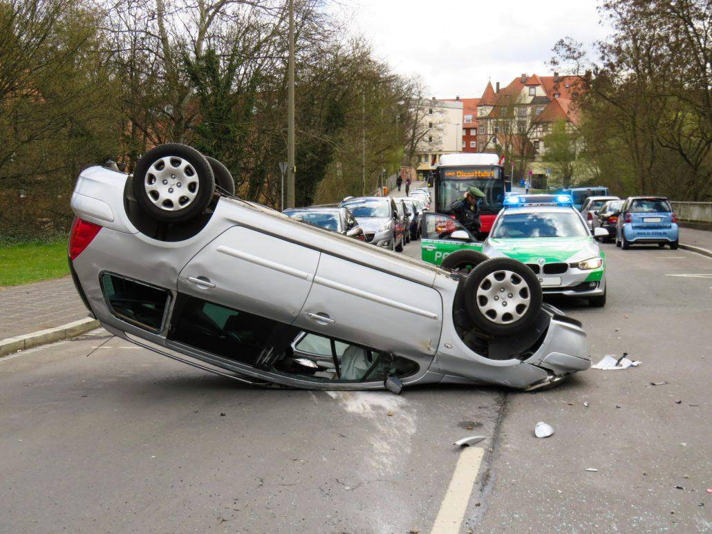 Unfall mit Airbag